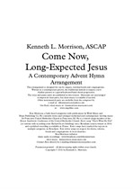 Come Now, Long-Expected Jesus