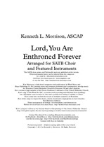 Lord, You Are Enthroned Forever