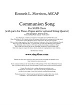 Communion Song (from God's Love: A Cantata for Holy Week and Easter)